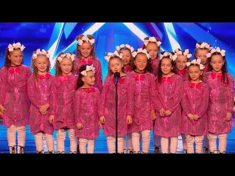 Don't get distract by Qt Crew pink outfit! | Week 2 | Britain's Got Talent 2017