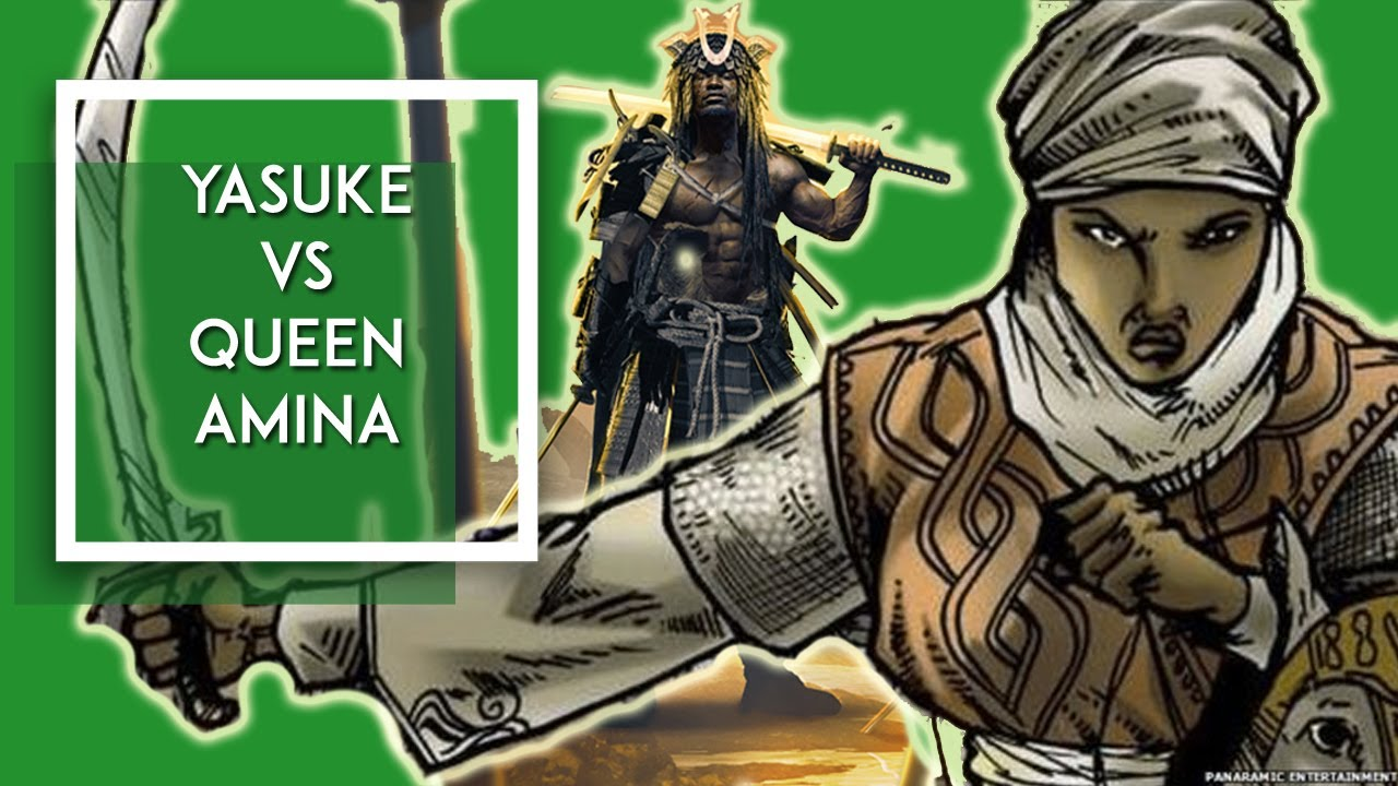 Download What If Yasuke Fought Queen Amina?