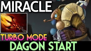 TURBO MODE DAGON START | Miracle- Plays Tinker Party Dota 2 7.07