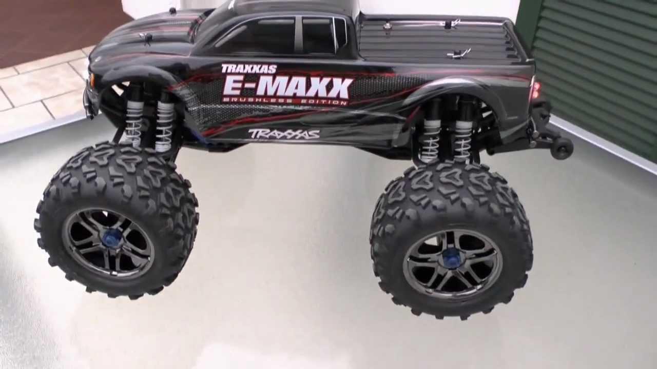 TRAXXAS E-MAXX nice rc car! rc live action toys!Fantastic ...