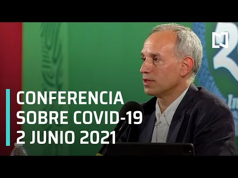 Informe Diario Covid-19 en México - 2 junio 2021