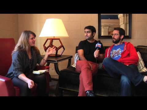 Silicon Valley's Kumail Nanjiani and Martin Starr talk madeup startups
