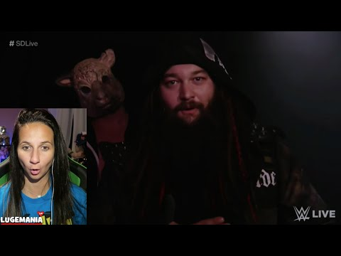WWE Smackdown 9/27/16 Randy Orton Finds Bray Wyatt BACKSTAGE