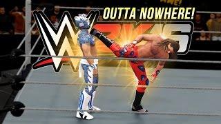 WWE 2K16 Fury : Super Kick Outta Nowhere!