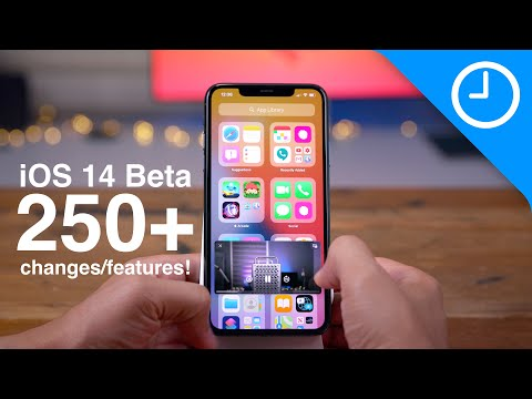 Ios 14 Beta 250+ Top Features/changes!