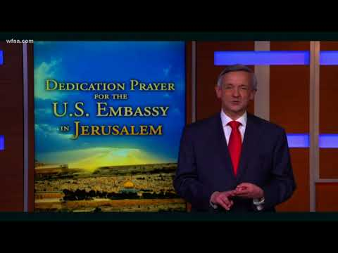 Dallas pastor Robert Jeffress will give dedication prayer at U.S. embassy in Jerusalem