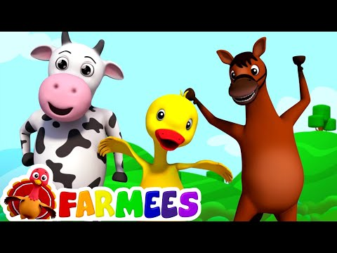 If you're happy and you know it | farmees | nursery rhymes |
