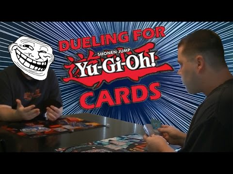 Dueling For Yugioh Cards