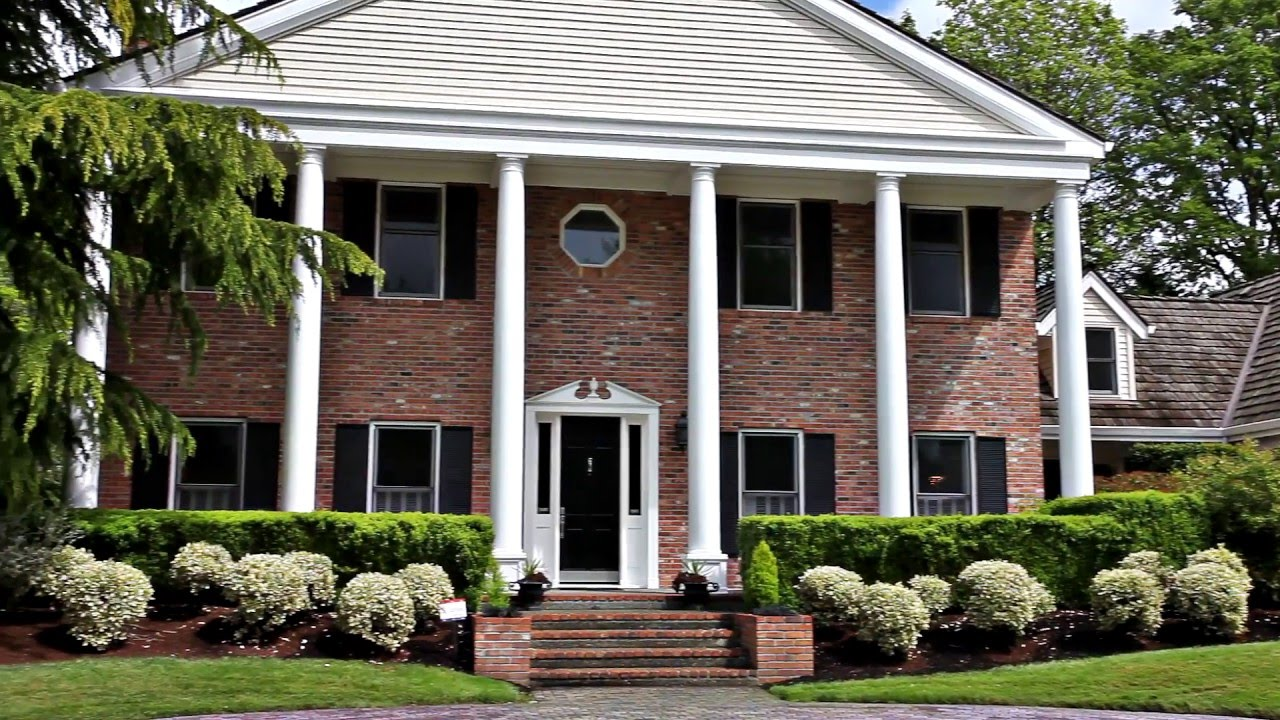 Beautiful Colonial Estate In NW Portland Oregon Luxury Homes - Portland oregon luxury homes
