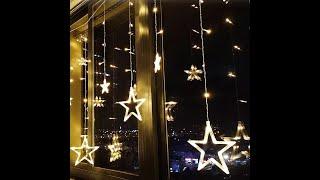 Đèn Led trang trí hình ngôi sao SIÊU HOT - Trang trí ngày lễ đẹp lung linh