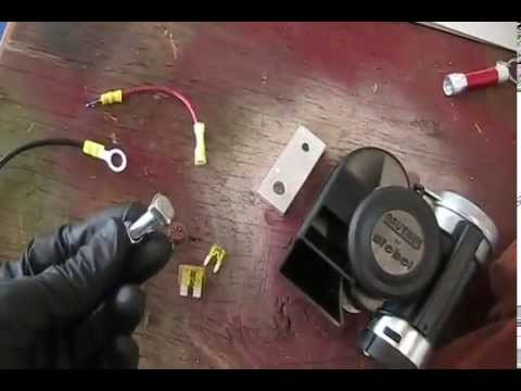 stebel nautilus compact motorcycle air horn installation instructions