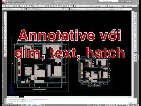 ✔ Trả Lời Bạn - Annotative với Dim, Hatch và Text Trên Layout - Autocad PhuongTk   NESA iCAD