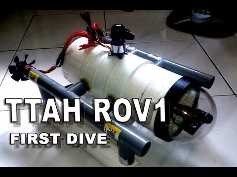 TTAH ROV 1 First Dive