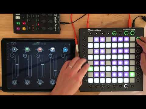 Launchpad Pro as 32 step sequencer