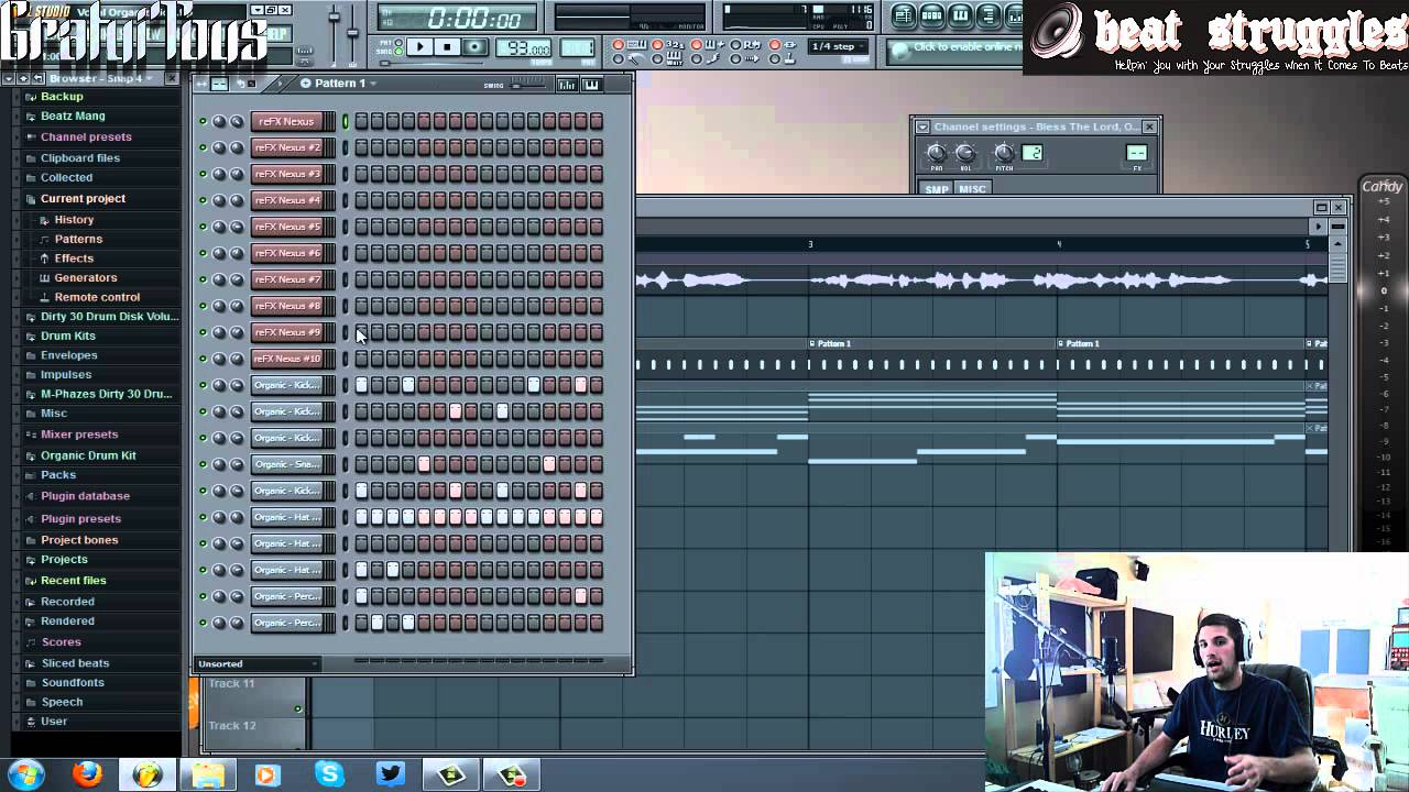 fl studio 10 tutorial how to remix a song youtube. Black Bedroom Furniture Sets. Home Design Ideas
