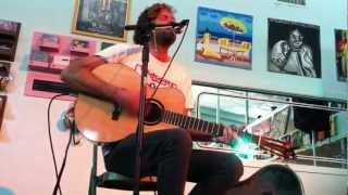 Neil Halstead - Alison (Acoustic - Good Records Dallas, Texas 8/4/12)