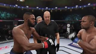 EA Sports UFC 3: Jon Jones vs Daniel Cormier Light Heavyweight championship - (PS4 HD) [1080p60FPS]