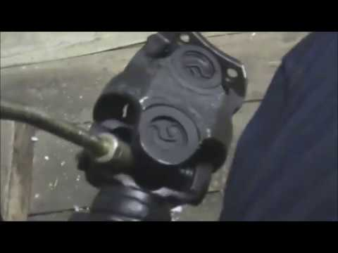 Задний кардан с шарниром ГУКА на УАЗ  HUNTER
