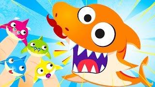 Finger Family Baby Shark Doo Doo!!! | Kids Songs | by Little Angel