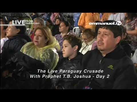 PROPHET TB JOSHUA CRUSADE IN PARAGUAY DAY 2   12 08 2017 VIDEO 3