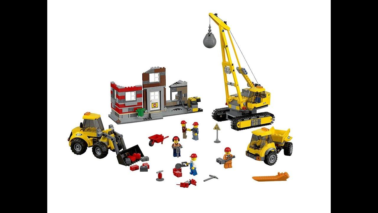 Lego Jeu Construction Démolition De City Le Chantier iOXuPwTZk