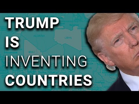 """Trump Praises Non-Existent Country of """"Nambia"""""""