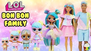 Bon Bon Family DIY Custom Fun Craft With Barbie and Ken Cupcake Kids Club