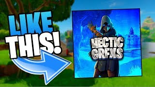 HOW TO MAKE A AWESOME FORTNITE LOGO IOS/ANDROID FOR FREE (tutorial)