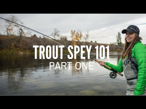 Trout Spey 101 - Part 1 What Is Trout Spey?