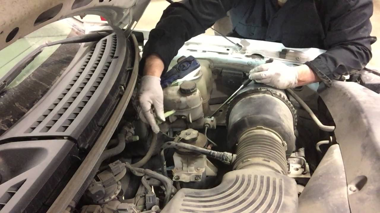 ford f150 brake warning light on [ 1280 x 720 Pixel ]