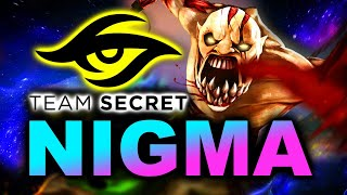 NIGMA vs SECRET - WHAT A GAME! - WePlay! MAD MOON DOTA 2