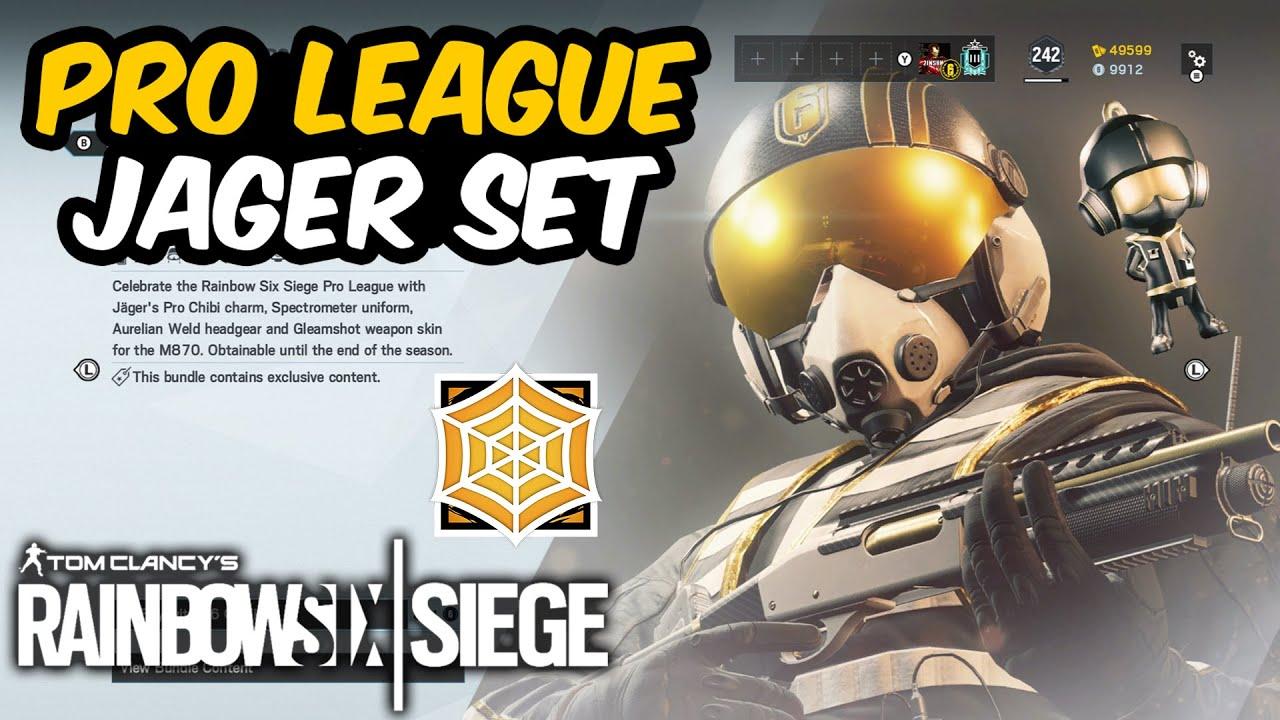 Pro League Jager Set Rainbow Six Siege Youtube
