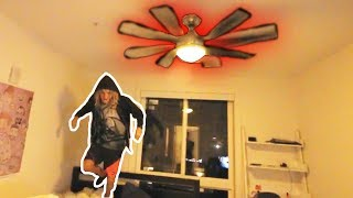 Ceiling Fan Trick **GONE WRONG!!** (Ft. ICE Poseidon) Stream Highlights