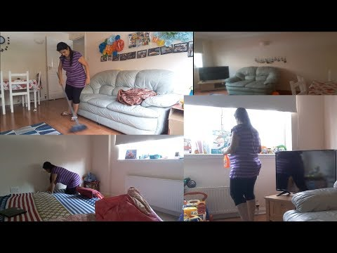 Indian (NRI)mom Home Cleaning Routine|| Detail home cleaning Routine-2018