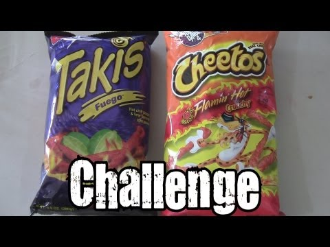 Hot Cheetos & Takis Fuego Challenge vs. Cult Moo