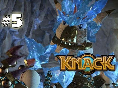KNACK - GAMEPLAY WALKTHROUGH - PART 5 (HD PS4 Gameplay)
