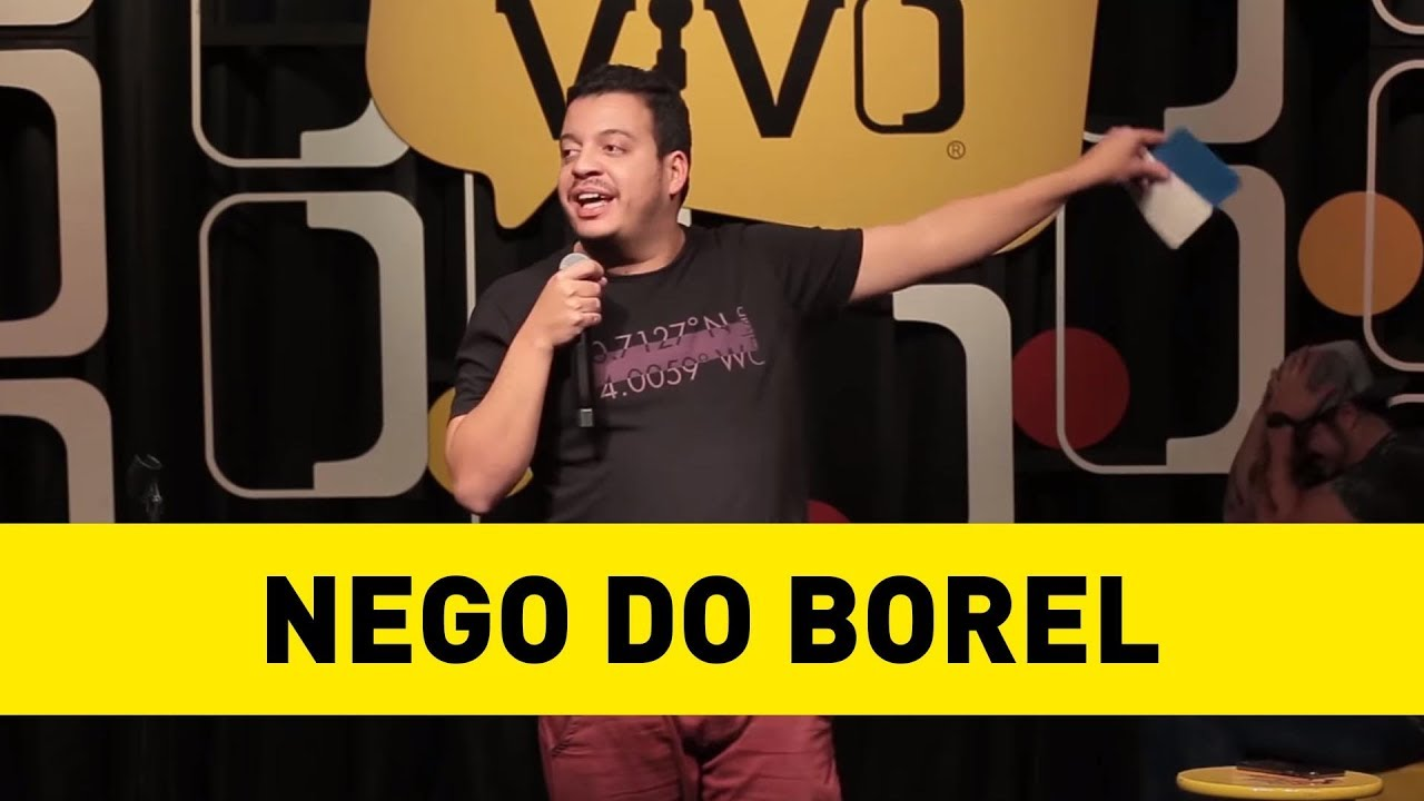 RODRIGO MARQUES - SOBRE O CLIPE DO NEGO DO BOREL - STAND UP COMEDY