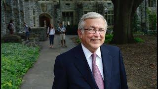 Memorial service to honor President Emeritus Charles Steger
