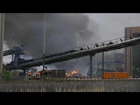 Ochsenfurt: Großbrand bei der Firma Südzucker