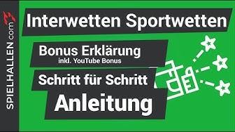 🇩🇪Interwetten Bonus & Erklärung🤔 - Sportwetten leicht gemacht!🔥