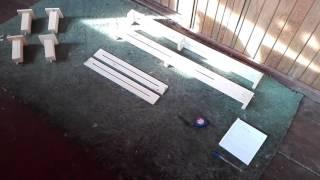 Подставка под собак,для выставочной стойки