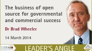 Brad Wheeler: The business of open source software for