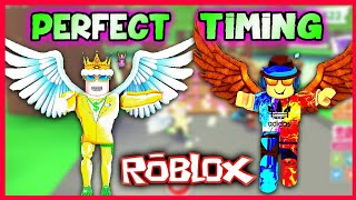 PERFECT TIMING ROBLOX DANCE EMOTES