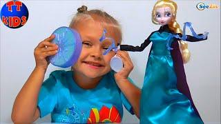 ✔ Кукла Эльза Холодное сердце в Новом Наборе от девочки Ярославы