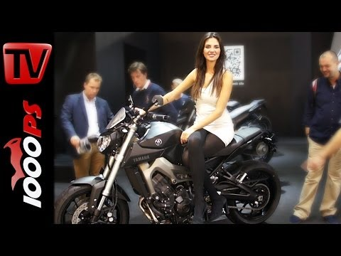 **Rizoma-Edition** Yamaha MT-09-2014 Deutsch-Version Details & Infos @ EICMA 2013