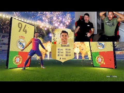 INSANE £1000 FIFA 18 PACK OPENING | FT. RONALDO AND MESSI GIVEAWAY!!!