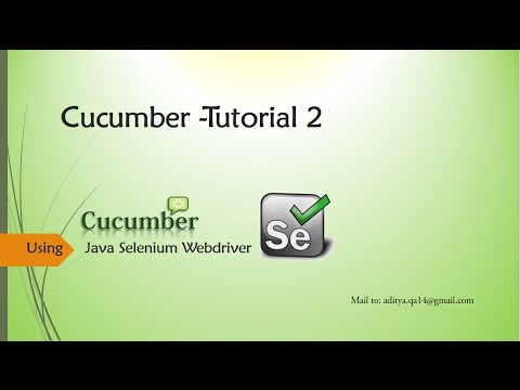 Cucumber Gherkin language in details and writing user features