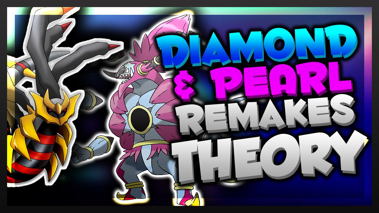 diamond & pearl remakes coming soon? (new pokemon game 2016) - youtube