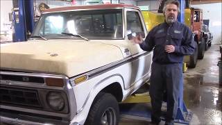 1977 Ford F100 Truck, Upcoming Project Introduction,  lastchanceautorestore com