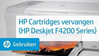 HP Cartridges vervangen (HP Deskjet F4200 Series)